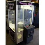 "30"" TREASURE CHEST PLUSH CLAW CRANE MACHINE"