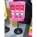 TRI SELECT CANDY VENDOR STAND RED
