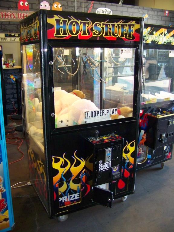 """40"""" HOT STUFF PLUSH CLAW CRANE MACHINE"""