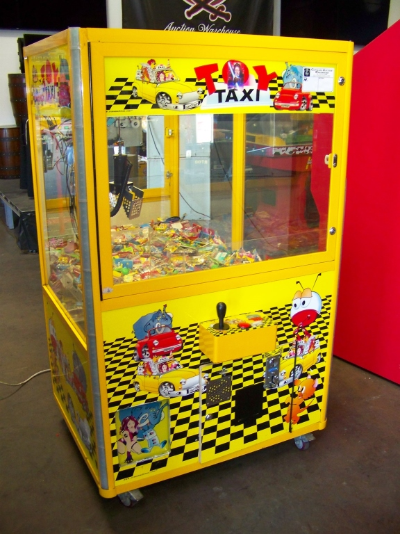 "42"" TOY TAXI MINI SIZE CANDY CLAW CRANE MACHINE"