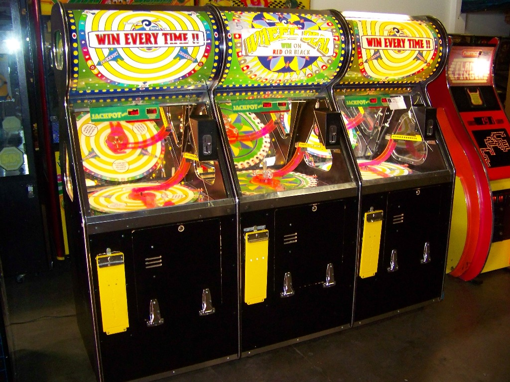 WHEEL DEAL 3 PLAYER TICKET REDEMPTION GAME BENCHMARK
