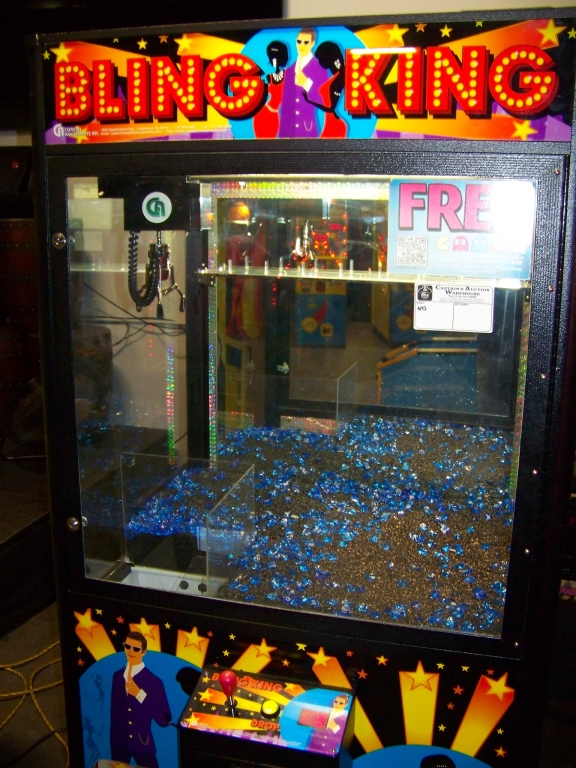 "42"" BLING KING JEWELRY CLAW CRANE MACHINE COASTAL - Image 3 of 4"