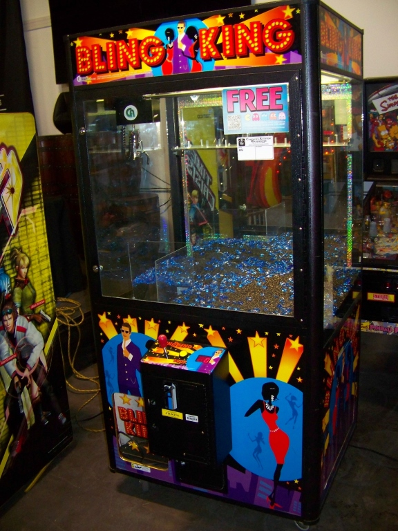 "42"" BLING KING JEWELRY CLAW CRANE MACHINE COASTAL - Image 2 of 4"