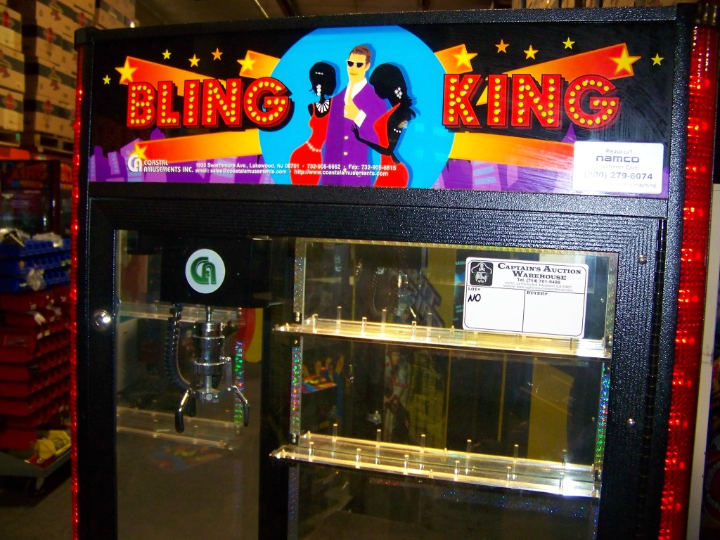 "Lot 6 - 30"" BLING KING JEWELRY CLAW CRANE MACHINE"