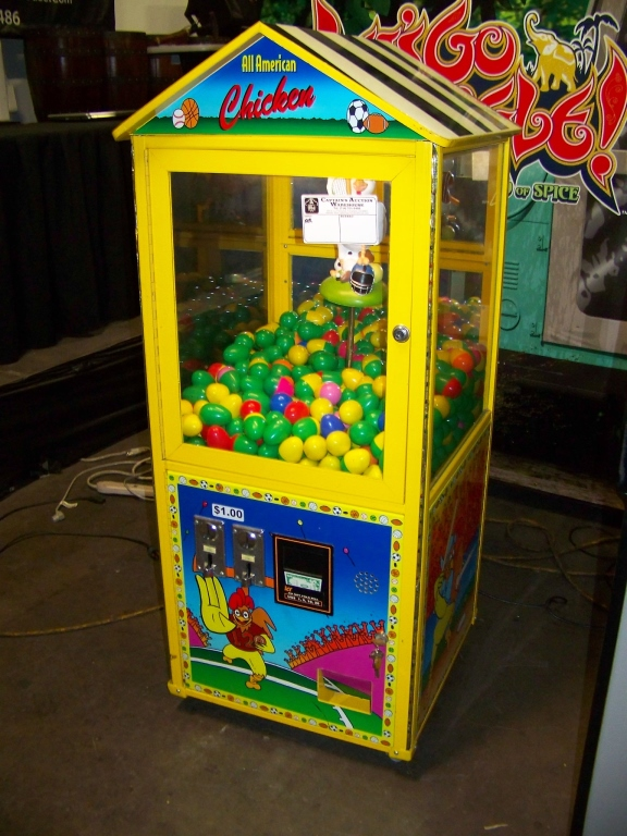 Lot 33 - ALL AMERICAN CHICKEN EGG PRIZE VENDING MACHINE