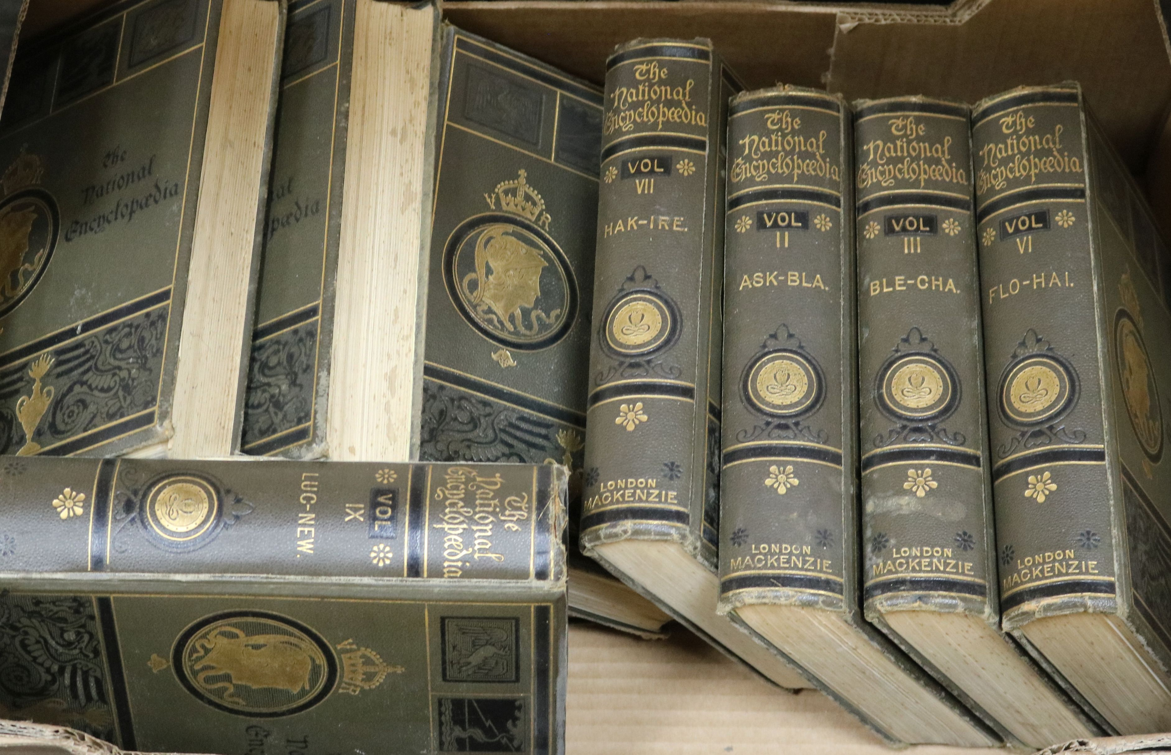 Lot 139 - A quantity of Beautiful Britain, magazines and The National Encyclopedia