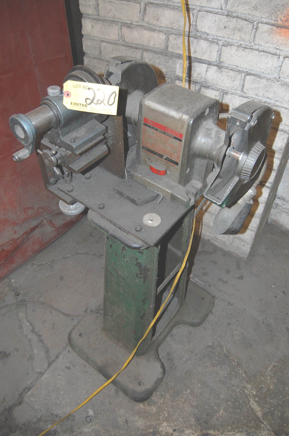 Astounding Sears Mdl 397 19450 Double End Bench Grinder Mounted On A Lamtechconsult Wood Chair Design Ideas Lamtechconsultcom
