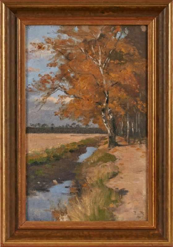 Lot 26 - Gemälde Paul von Ravenstein1854 Breslau - 1938 Karlsruhe Studium an der Badischen Kunstschule in