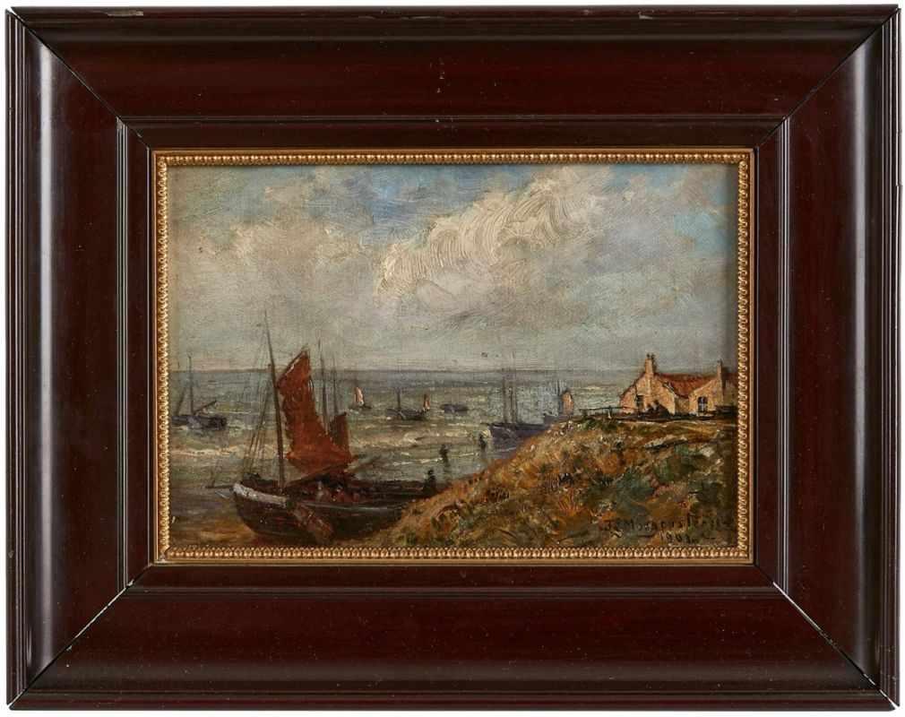 Lot 18 - Gemälde Friedrich Ernst Morgenstern1853 Frankfurt - 1919 Frankfurt Sohn des Carl Morgenstern,