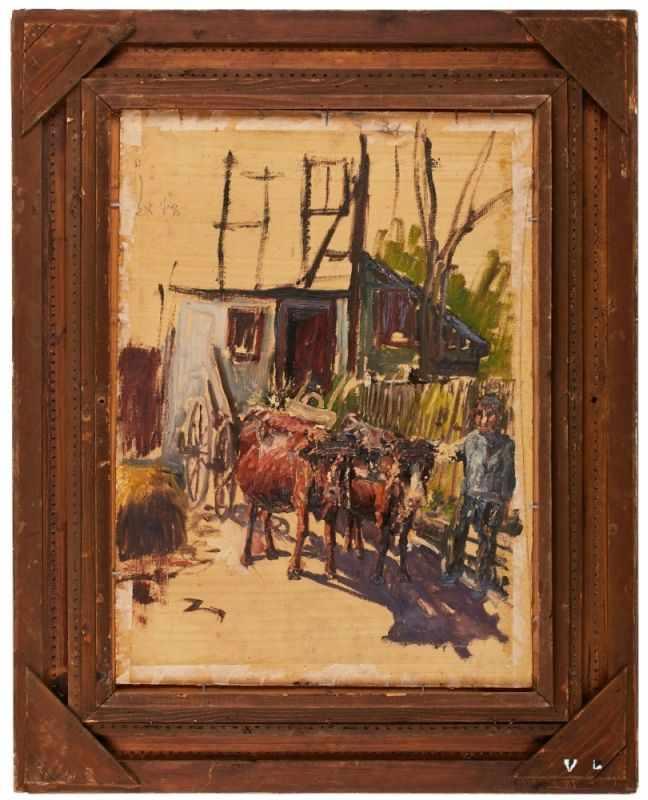 Lot 43 - Gemälde Eduard Josef Müller1851 Ellenhausen - 1922 Ehrbach Schüler der Düsseldorfer Akad. (Andreas
