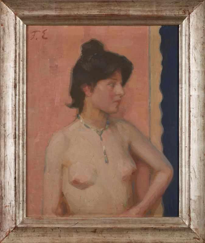 Lot 57 - Gemälde Fritz Erler1868 Zabkowice Slaskie - 1940 Pforzheim Studierte Malerei in Breslau sowie an der