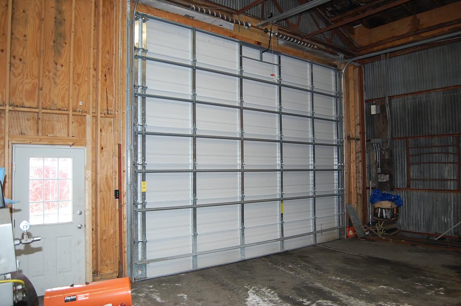 Wayne dalton electric garage door 18 ft x 12 ft t b for 18 foot garage door