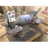 Baldor 1HP Dual Head Bench Grinder 115v