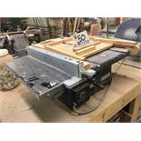 """Black and Decker 9419 8"""" Induction Motor Table Saw with spring loaded slider fixture"""