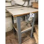 """Stanley Router on 25"""" x 25"""" Table"""