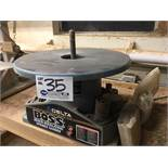 """Delta Boss 31-780 Oscillating sander - 18"""" dia. Table, 1/2""""-3"""" drums, 1,725 rpm c/w assorted drums"""