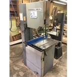"""Rockwell Delta Model 28-3X0 20"""" Vertical Bandsaw 24"""" x 20"""" Table c/w Kreg Precision Fence s/n"""