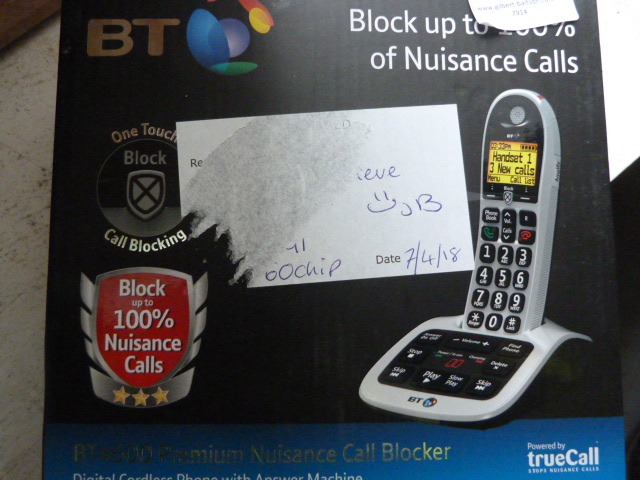 Lot 42 - *BT 4600 Cordless Telephone