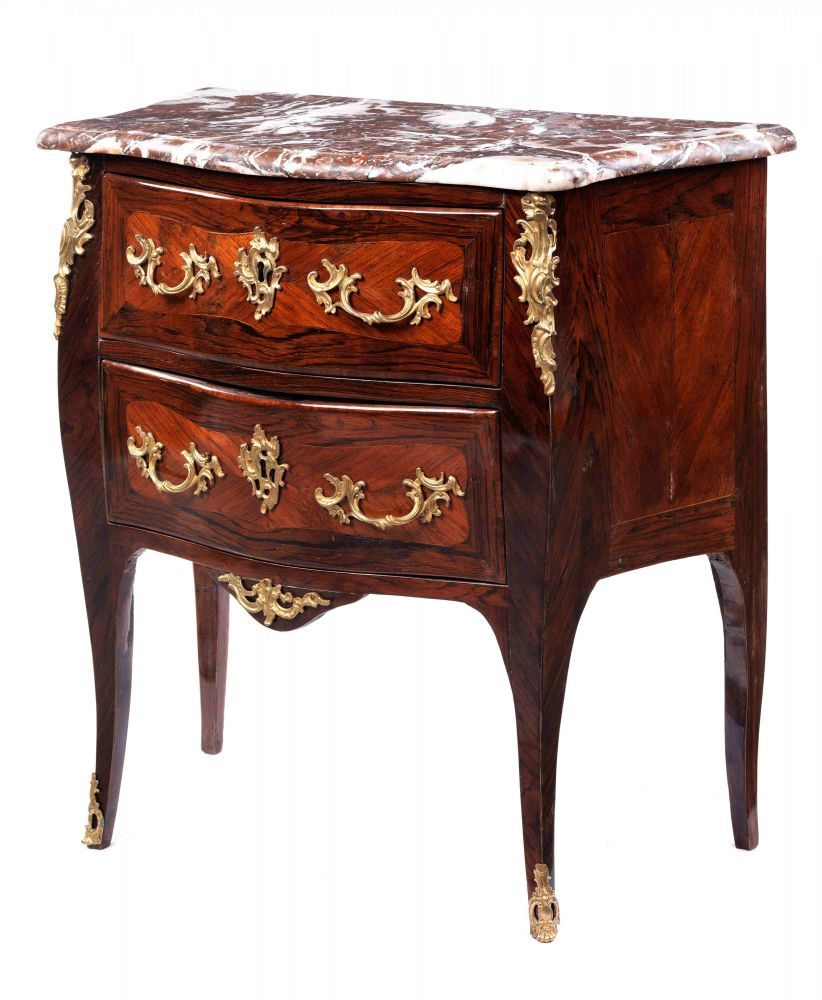 small louis xv commode height 78 5 cm width 80 cm. Black Bedroom Furniture Sets. Home Design Ideas