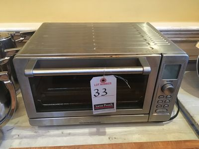 CUISINART 1D S.S. TOASTER OVEN