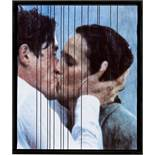 "Gregor Hildebrandt. ""Creatures Kissing in the Rain Shapeless in the Dark Again (Cure)"". 2008"