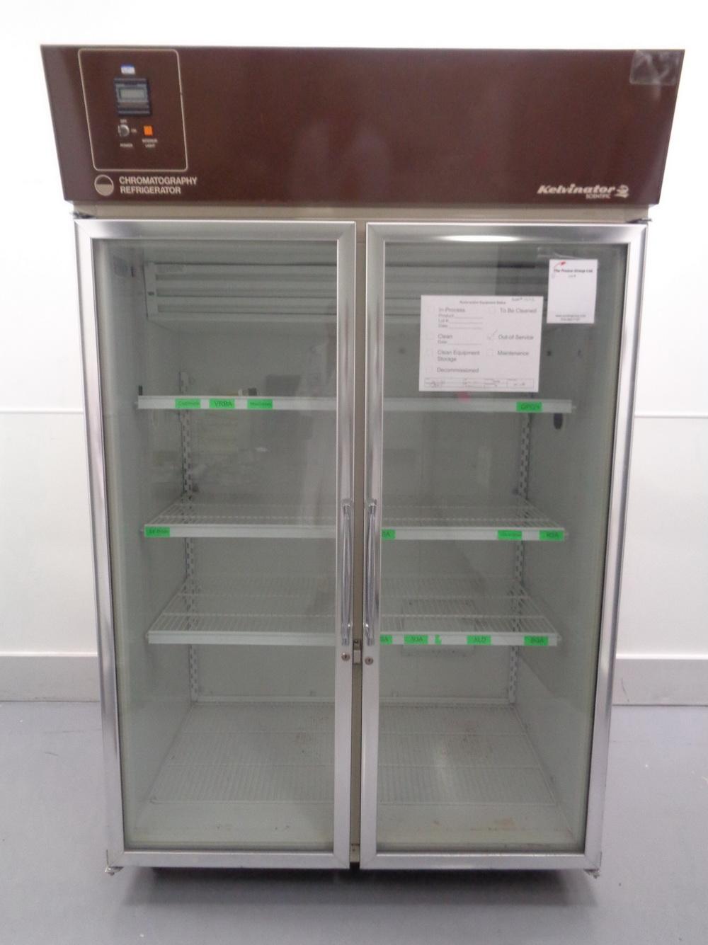 Lot 26 Kelvinator Scientific Double Glass Door Chromatography Refrigerator