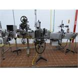 Nita Stainless Steel Horizontal Front and Back Wipe-On Pressure Sensitive Labeler