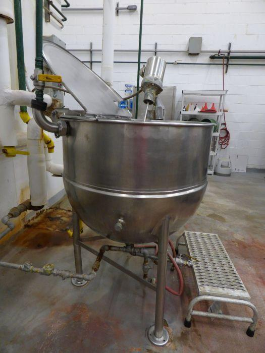 Groen Stainless Steel Jacketed Steam Kettle with Mixer - Image 7 of 8