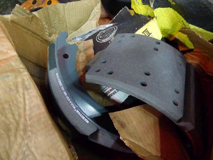 Lot Tires, Wheels, Break Shoes - Image 6 of 8