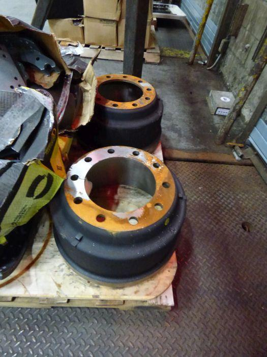 Lot Tires, Wheels, Break Shoes - Image 8 of 8