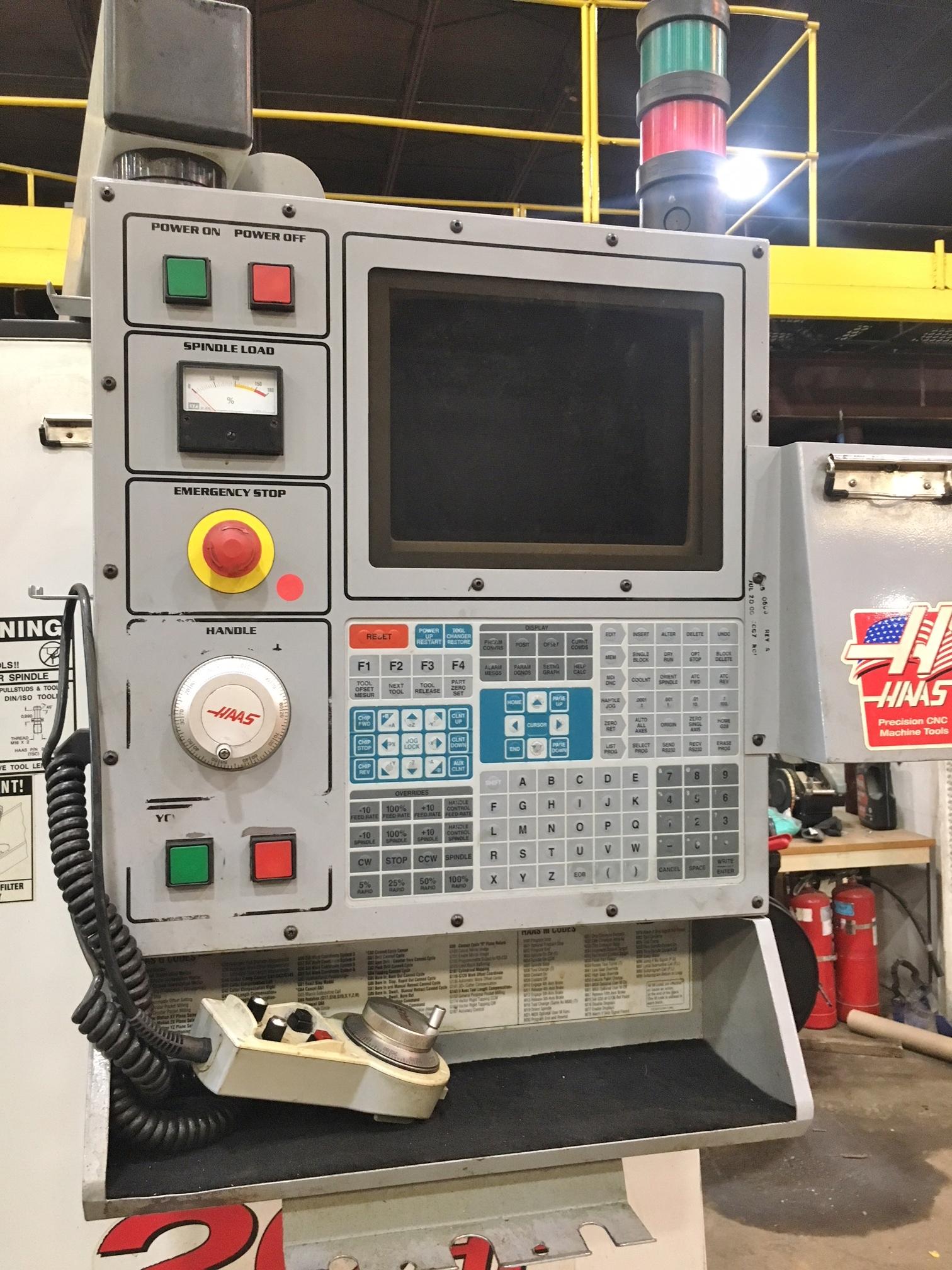 Lot 34 - HAAS VF-3 CNC Vertical Mill