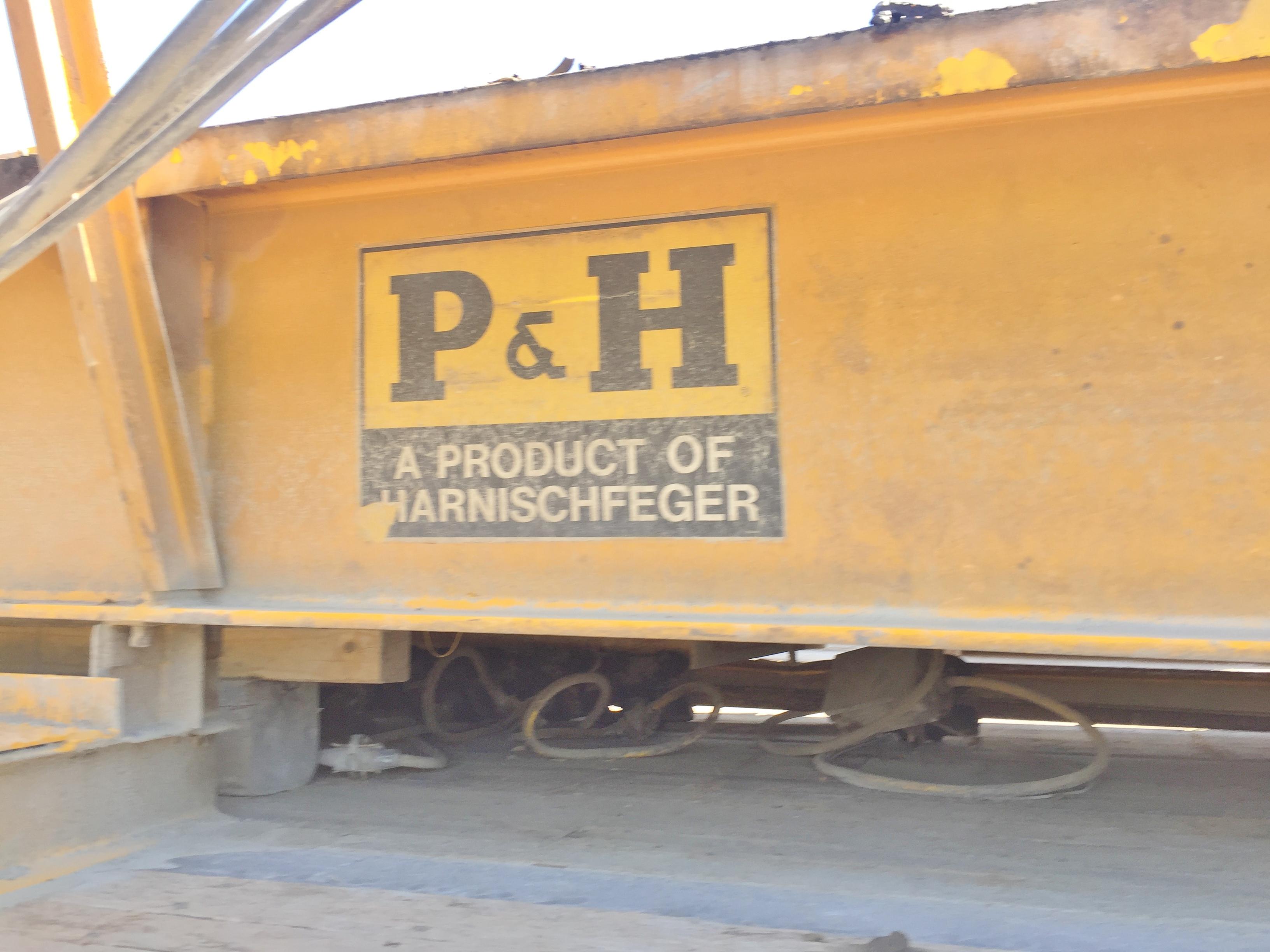 Lot 44 - P&H 5 Ton Bridge Crane