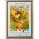 Der richtende EngelMarc Chagall(Witebsk 1887 - 1985 Saint-Paul-de-Vence) Farblithographie (