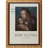 Mère et enfant au fichuPablo Picasso (Malaga, Spanien 1881 - 1973 Mougins, Frankreich) Plakat für
