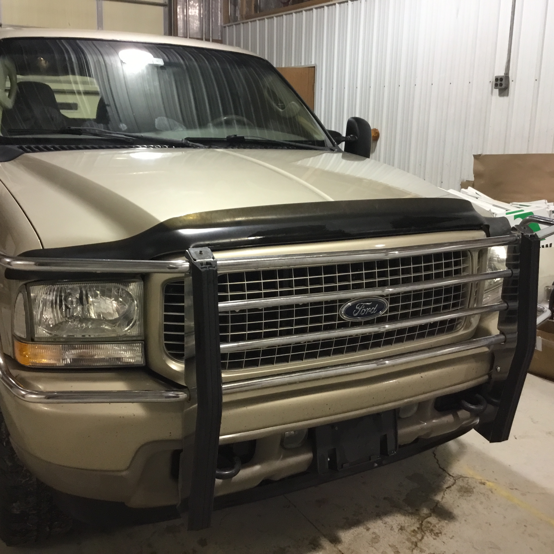 2004 Ford Excursion Limited, 6.0 Diesel, 4x4, 205,000 Miles, Vin 1C4NJPBB2HD103824, Tan, Good