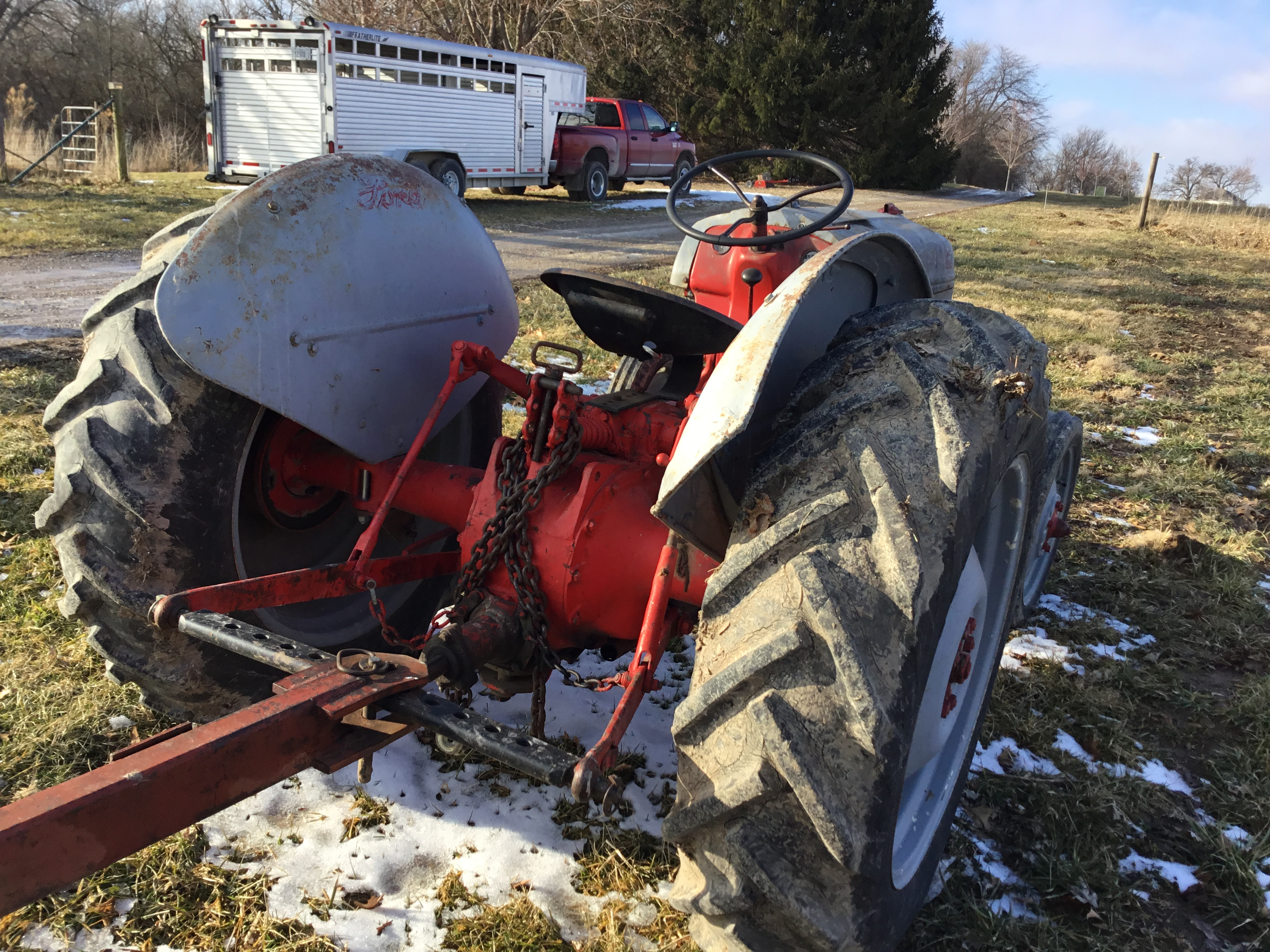 1951 8N Ford Tractor - Image 4 of 6