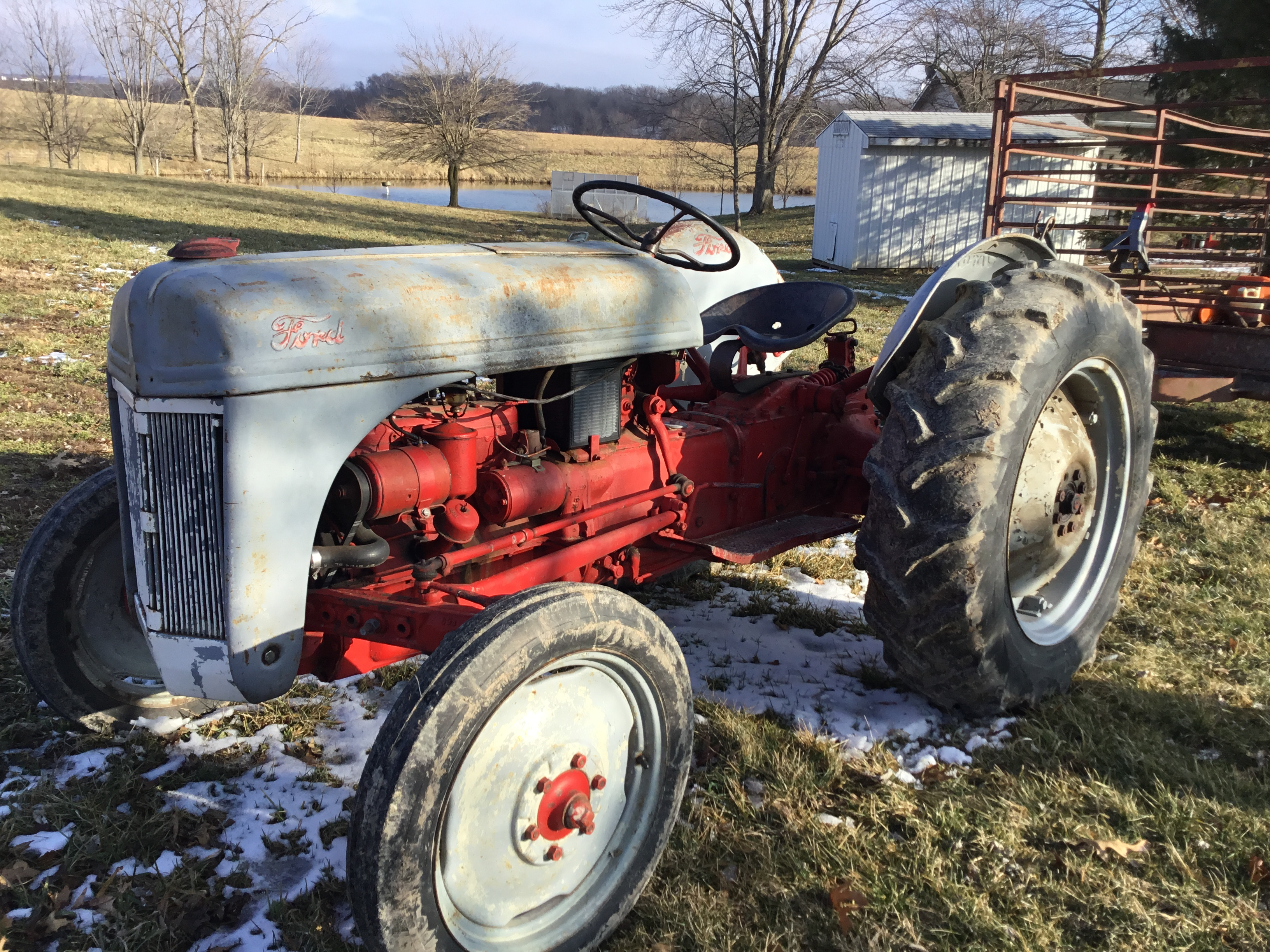 1951 8N Ford Tractor - Image 2 of 6