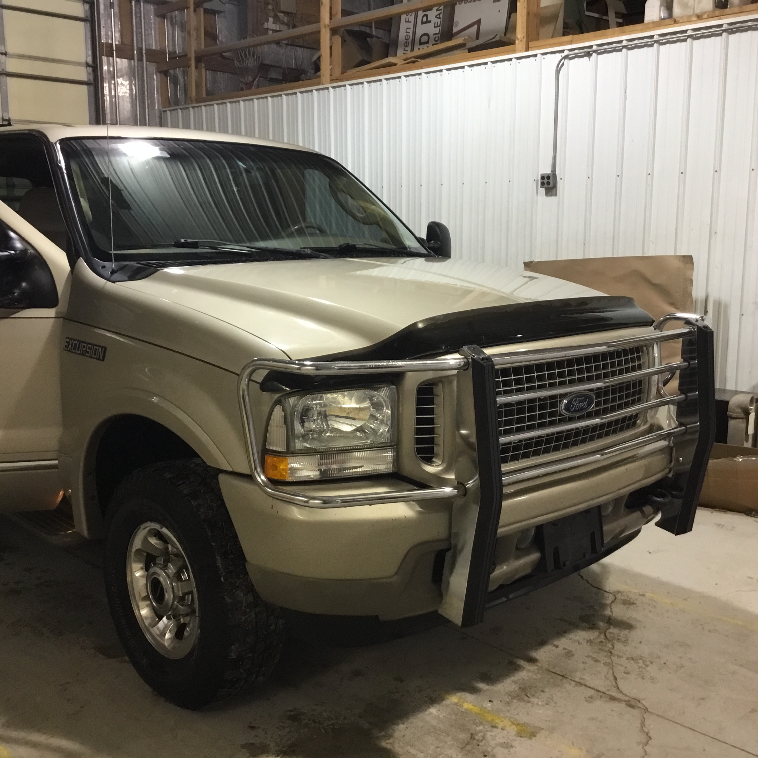 2004 Ford Excursion Limited, 6.0 Diesel, 4x4, 205,000 Miles, Vin 1C4NJPBB2HD103824, Tan, Good - Image 12 of 12
