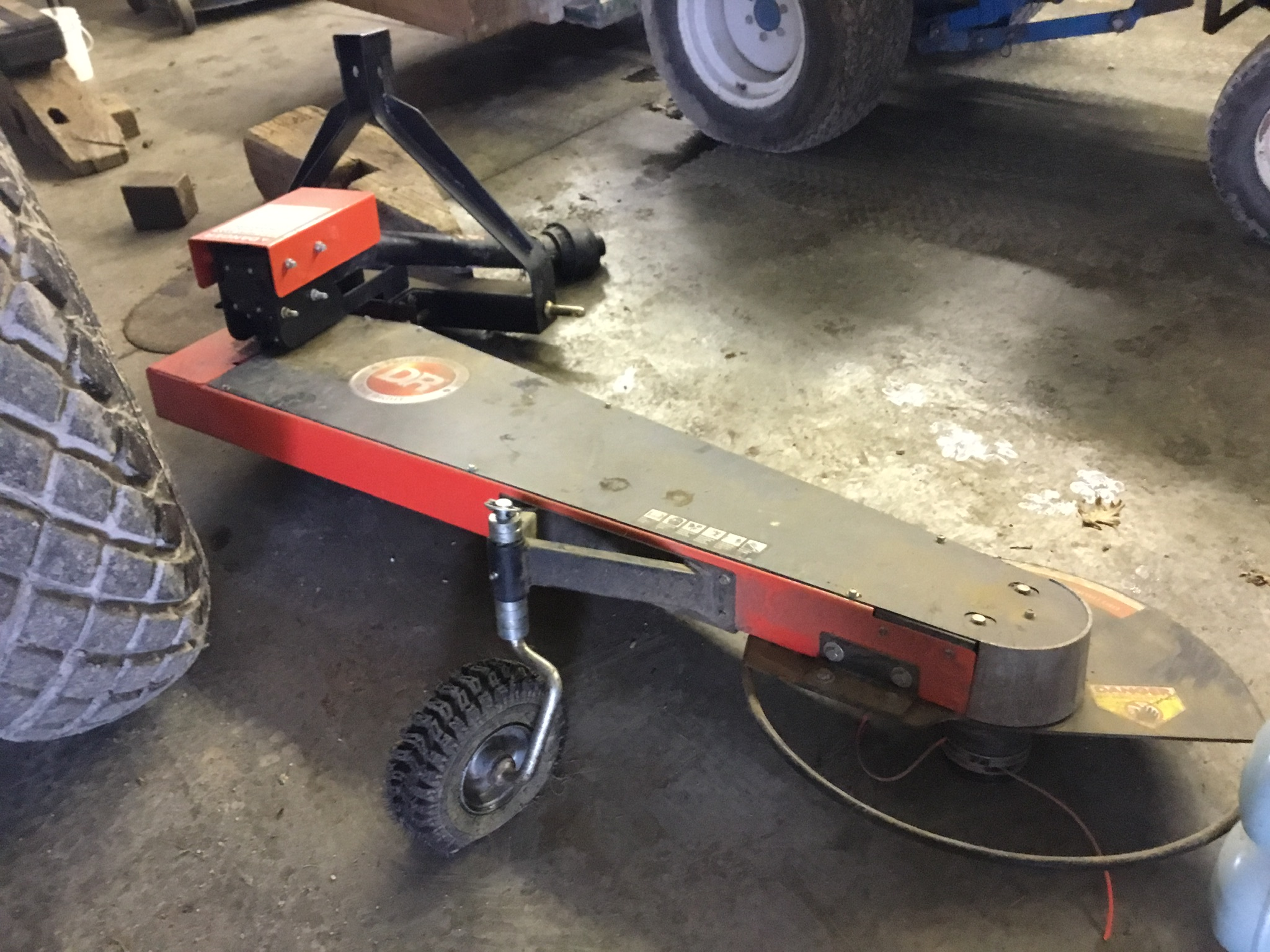 DR 3Pt. Hitch, PTO, Trimmer Mower