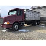 1996 Volvo Tandem, 10 Speed Transmission, 20 Ft. Aluminum Grain Bed, Cargo Doors, Air Ride