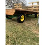 8x18 Hay Rack W/JD 963 Gear, New Top
