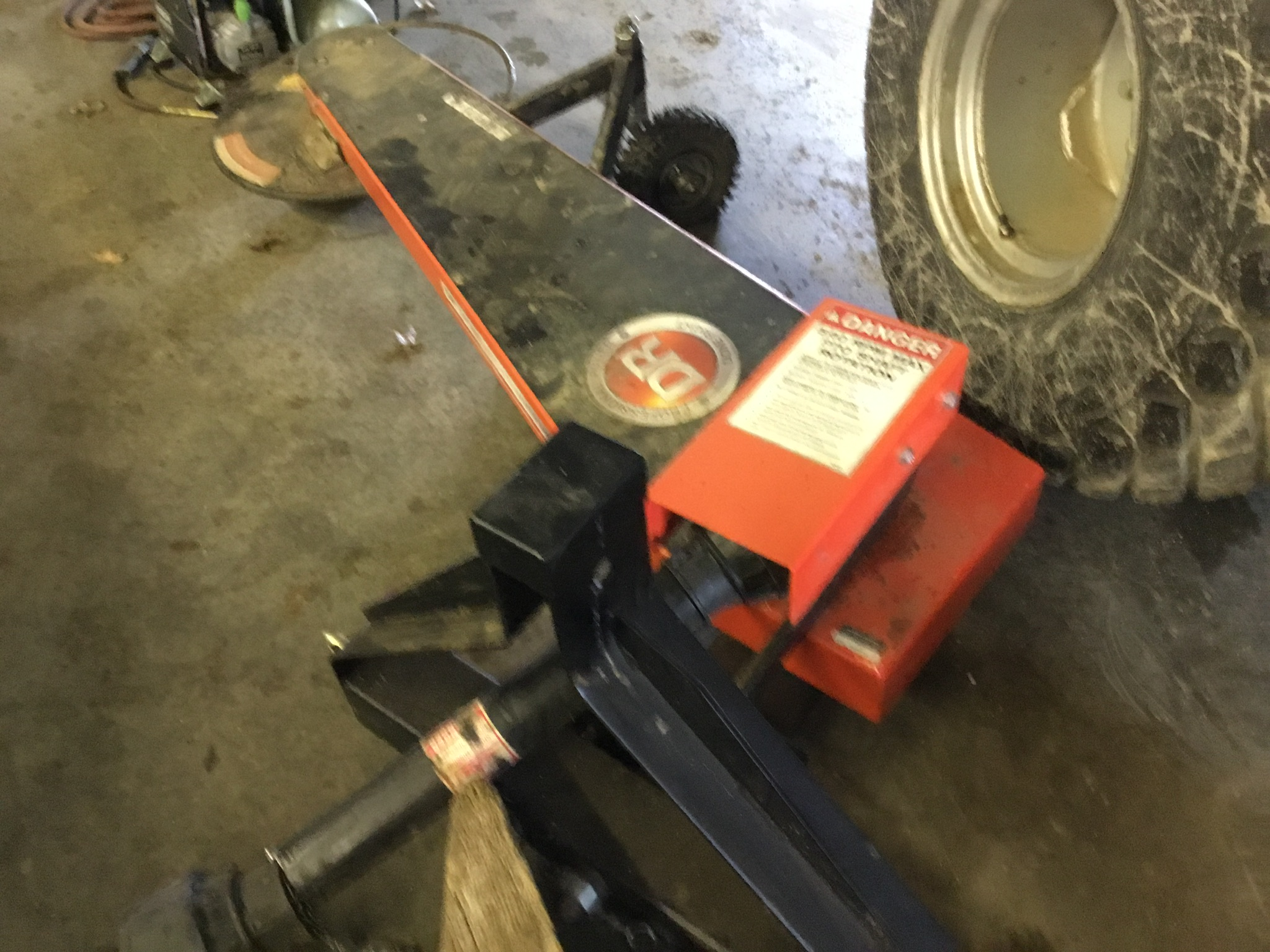 Lot 23 - DR 3Pt. Hitch, PTO, Trimmer Mower