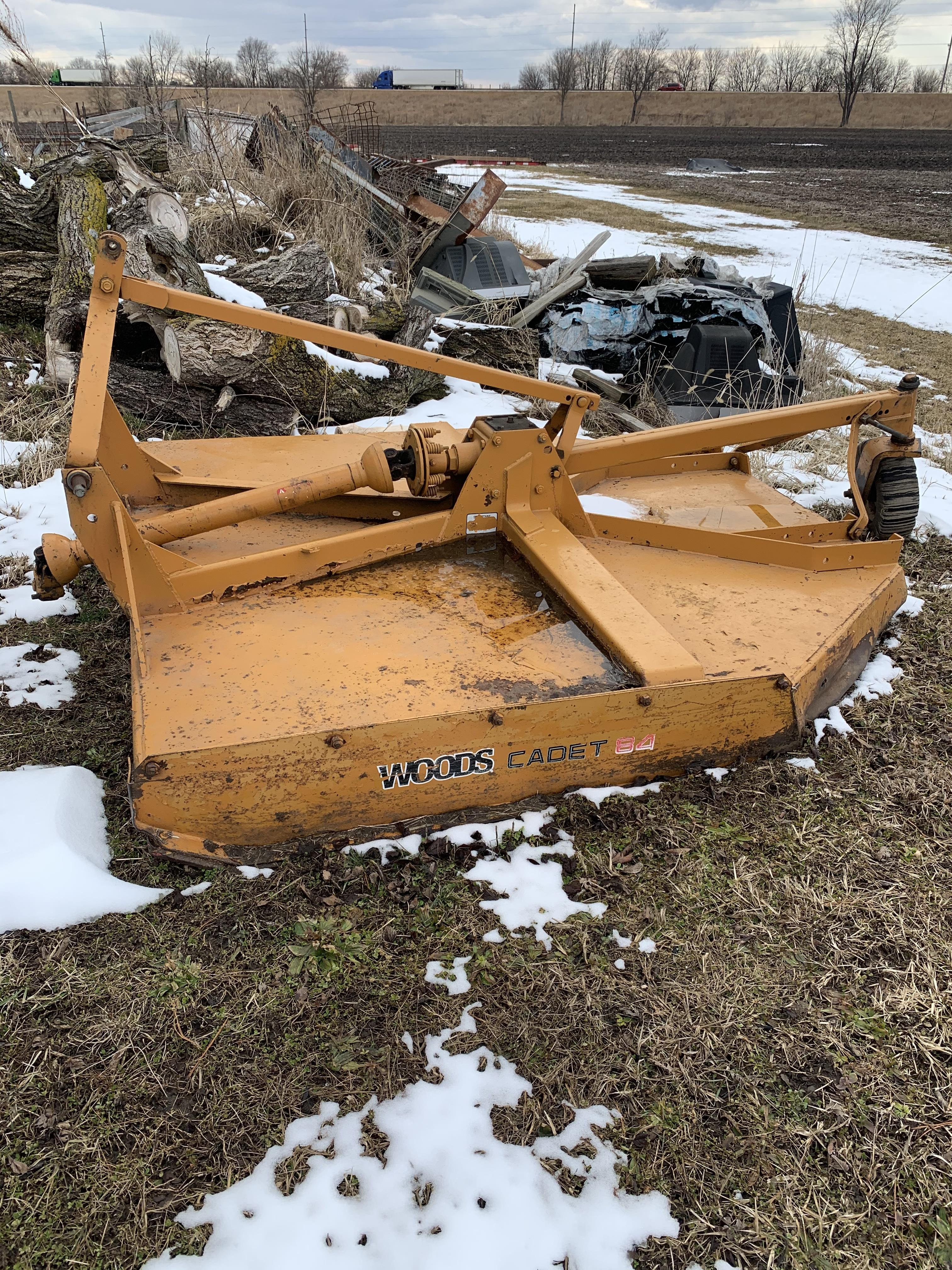 Lot 21 - Woods 3Pt. Hitch PTO Rotary Mower, 72 In.