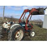 Ford 3600 Diesel W/Westendorf Loader, 3 Pt. Hitch, PTO, Power Steering, Hi/Lo Transmission, 2218