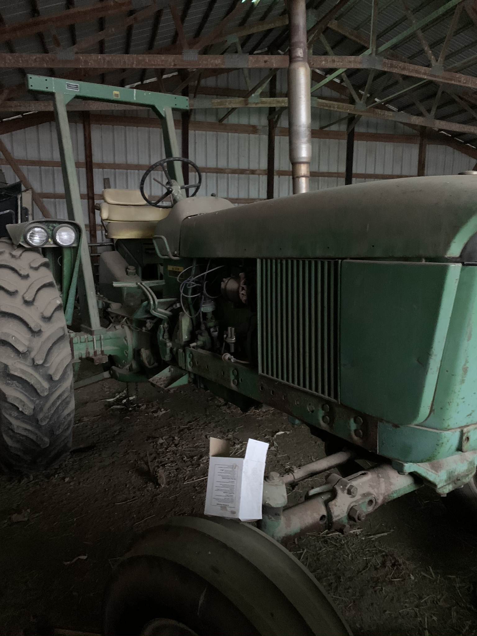 1962 JD 3010 GAS, Synchro Range Transmission, Single Hydraulic Remote - Image 4 of 4