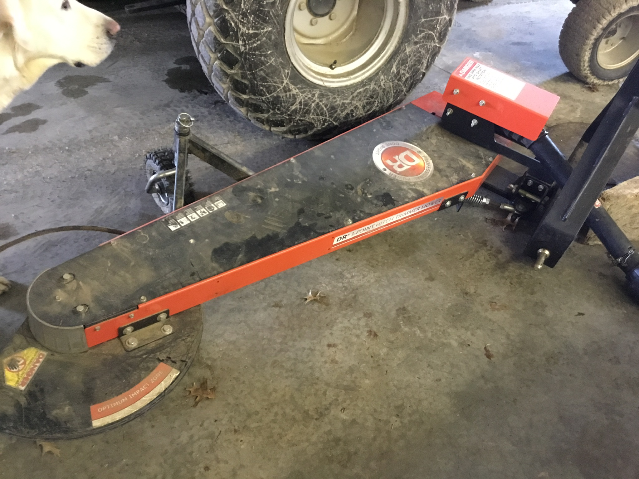 DR 3Pt. Hitch, PTO, Trimmer Mower - Image 3 of 5