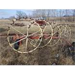 5 Wheel Hay Rake Pull Type