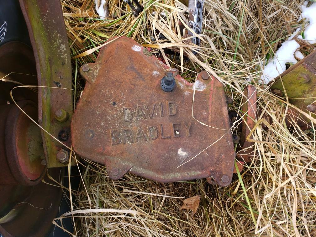 David Bradley Ground Dive Hay Rake - Image 2 of 2