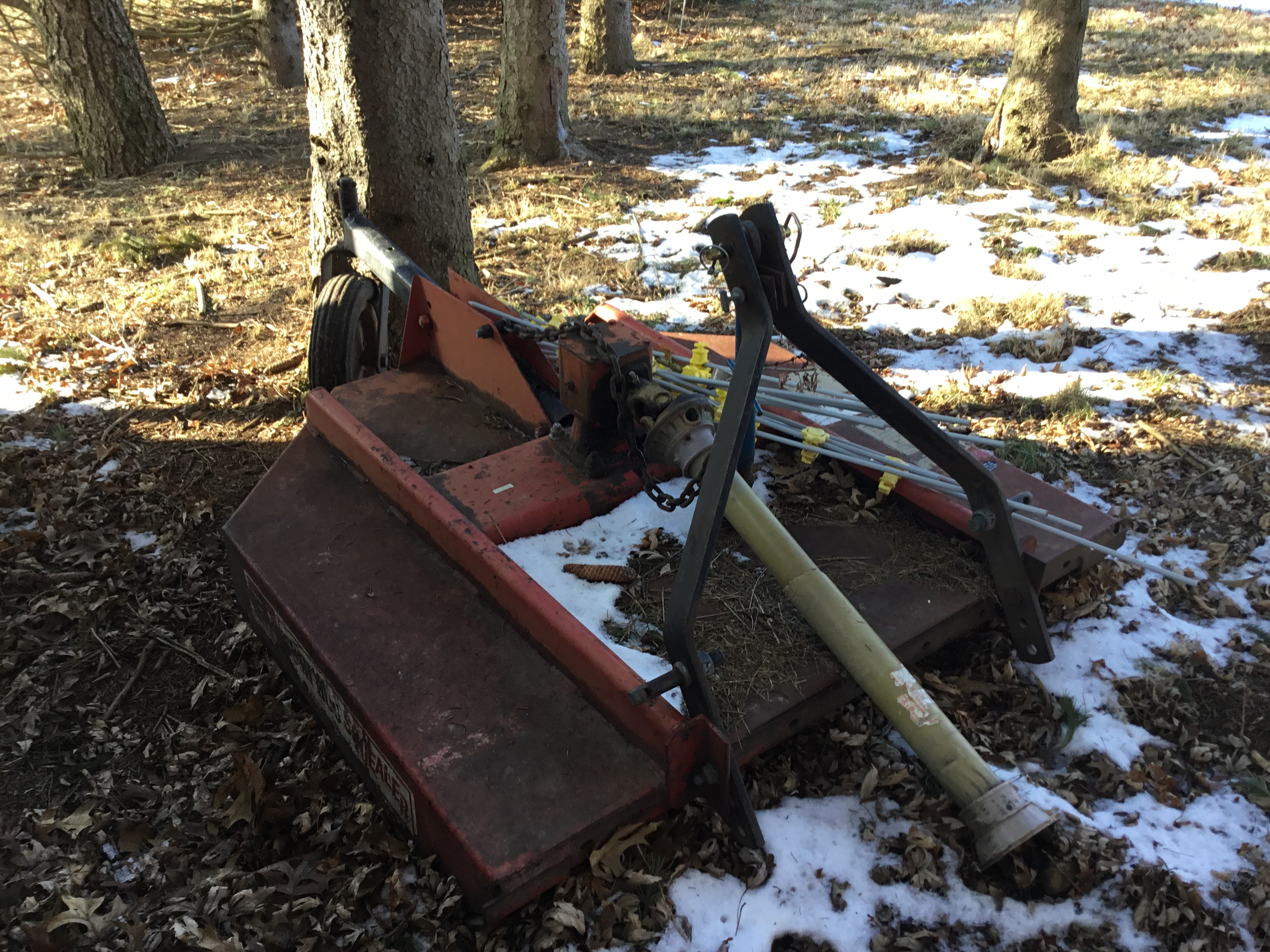 Bush Hog 3Pt. Hitch PTO Rotary Mower, 60 In. - Image 2 of 4