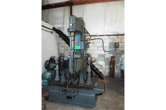 BERCO AC750-A Cylinder boring machine with 1 218